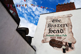 Brazen Head Pub Sign, Bridge Street, Dublin City, Ireland Photographic Print by Green Light Collection