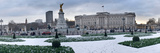 Buckingham Palace in Winter, City of Westminster, London, England Photographic Print by  Panoramic Images
