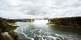 Rainbow Bridge at Niagara Falls on the Niagara River, Niagara County, New York State, USA Photographic Print by  Panoramic Images