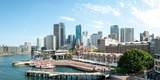 View of Circular Quay and Downtown Skyscrapers from Roof of Park Hyatt Hotel, Sydney Photographic Print by  Panoramic Images