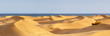 Sand Dunes in a Desert, Maspalomas, Grand Canary, Canary Islands, Spain Photographic Print by  Panoramic Images