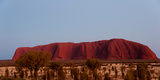 Ayers Rock at Dusk, Northern Territory, Australia Photographic Print by Green Light Collection