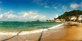 Surf on the Beach, Morro De Sao Paulo, Tinhare, Cairu, Bahia, Brazil Photographic Print by  Panoramic Images