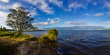 Clouds over the Pacific Ocean, Rotorua, New Zealand Photographic Print by  Panoramic Images