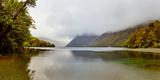 Lake During Fog, Lake Fergus, Fiordland National Park, South Island, New Zealand Photographic Print by  Panoramic Images