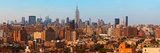 Aerial View of a City, Manhattan, New York City, New York State, USA Photographic Print by  Panoramic Images