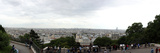 City Viewed from Sacre-Coeur Basilica, Paris,Ile-De-France, France Photographic Print by  Panoramic Images