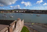 View from King John's Castle, Dungarvan, County Waterford, Ireland Photographic Print by Green Light Collection