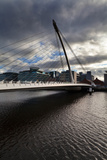 The Samual Beckett Bridge over the River Liffey, Dublin , Ireland Photographic Print by Green Light Collection