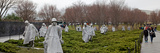Statues of Soldiers at a War Memorial, Korean War Memorial, the Mall, Washington Dc, USA Photographic Print by  Panoramic Images