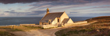 Chapel at the Coast, Chapelle Saint-They, Pointe Du Van, Cleden Cape Sizun, Finistere Photographic Print by  Panoramic Images