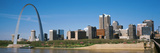 Downtown Buildings and Gateway Arch, St. Louis, Missouri, USA Photographic Print by  Panoramic Images