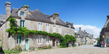 Historical Buildings at the Grand Place, Locronan, Finistere, Brittany, France Photographic Print by  Panoramic Images