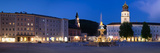 Residenz Fountain and Michaeliskirche Church at Residenzplatz Square, Salzburg Residenz Photographic Print by  Panoramic Images