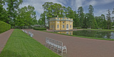Palace Grounds, Catherine Palace, Tsarskoye Selo, St. Petersburg, Russia Photographic Print by  Panoramic Images