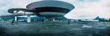 Niteroi Contemporary Art Museum Designed by Oscar Niemeyer, Niteroi, Rio De Janeiro, Brazil Photographic Print by  Panoramic Images