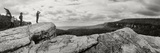 Hikers Standing on the Rocks, Gertrude's Nose, Minnewaska State Park, Catskill Mountains Photographic Print by  Panoramic Images