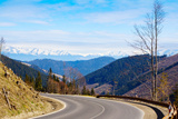 Mountain Road in a Valley, Tatra Mountains, Slovakia Photographic Print by Green Light Collection