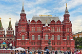 Facade of a Museum, State Historical Museum, Red Square, Moscow, Russia Photographic Print by Green Light Collection