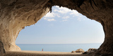 Cave on the Cala Luna Beach, Cala Gonone, Nuoro, Sardinia, Italy Photographic Print by  Panoramic Images
