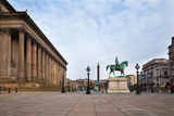 St George's Hall, Liverpool, Merseyside, England Photographic Print by Green Light Collection