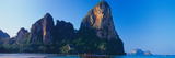 Cliff on the Beach, Railay Beach, Krabi, Krabi Province, Thailand Photographic Print by  Panoramic Images
