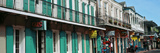 Buildings Along the Bourbon Street, French Quarter, New Orleans, Louisiana, USA Photographic Print by  Panoramic Images