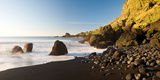 Rocks on the Coast, Vik I Myrdal, Iceland Photographic Print by  Panoramic Images