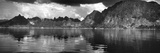 Reflection of Mountain on Water, Chiaw Lan Lake, Kao Sok National Park, Surat Thani Province Photographic Print by  Panoramic Images
