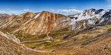 Alpine Loop Scenic Byway Trail Passing Though Mountains, California Pass, Houghton Mountain Photographic Print by  Panoramic Images