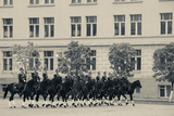 Soldiers of the Presidential Regimental Cavalry, Kremlin, Moscow, Russia Photographic Print by Green Light Collection