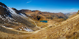 Alaska Basin and Como Lake Surrounded by Mountains, Brown Mountain, Turtle Mountain Photographic Print by  Panoramic Images