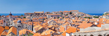 High Angle View of the Old Town, Dubrovnik, Dalmatia, Croatia Photographic Print by  Panoramic Images