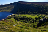 Lough Tay Below Luggala Mountain, County Wicklow National Park, Ireland Photographic Print by Green Light Collection