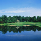Trees in a Golf Course, Wilmington Country Club, Wilmington, Delaware, USA Photographic Print by Green Light Collection