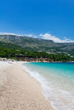 Zlatni Rat Beach, Bol, Brac Island, Dalmatia, Croatia Photographic Print by Green Light Collection