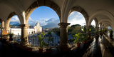 Town Viewed Through from a Palace, Palacio De Los Capitanes Generale, Antigua Guatemala, Guatemala Photographic Print by  Panoramic Images
