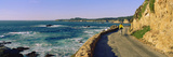 Couple Riding Bicycles Along California Coast, Monterey, California, USA Photographic Print by  Panoramic Images