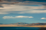 Clouds over a Lake, Mono Lake, Lee Vining, Mono County, California, USA Photographic Print by Green Light Collection