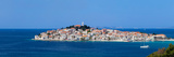 Town on a Coast, Primosten, Adriatic Coast, Dalmatia, Croatia Photographic Print by  Panoramic Images