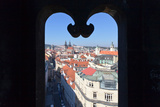 View from Prasna Brana Tower over the Old Town, Prague, Bohemia, Czech Republic Photographic Print by Green Light Collection