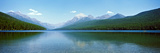 Lake with Mountains in the Background, Bowman Lake, Us Glacier National Park, Montana, USA Photographic Print by  Panoramic Images