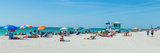 People on the Beach, Venice Beach, Gulf of Mexico, Venice, Florida, USA Photographic Print by  Panoramic Images