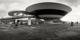 Niteroi Contemporary Art Museum Designed by Oscar Niemeyer, Niteroi, Rio De Janeiro, Brazil Photographic Print by  Panoramic Images