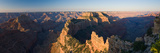 Rock Formations at a Canyon, North Rim, Grand Canyon National Park, Arizona, USA Photographic Print by  Panoramic Images