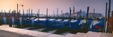 Gondolas at a Dock, Venice, Veneto, Italy Photographic Print by  Panoramic Images