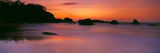 Sunset over the Sea, Goa, India Photographic Print by  Panoramic Images