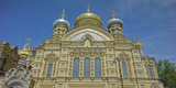 Low Angle View of a Church, Metochion of Optina Monastery, St. Petersburg, Russia Photographic Print by  Panoramic Images