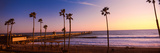 Pier in the Pacific Ocean, San Clemente Pier, San Clemente, California, USA Fotografisk tryk af Panoramic Images,