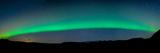 Aurora Borealis or Northern Lights, Vik I Myrdal, Iceland Photographic Print by  Panoramic Images